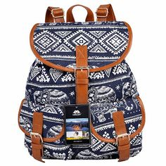 VBIGER Canvas Backpack for Women
