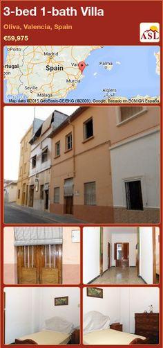 3-bed 1-bath Villa in Oliva, Valencia, Spain ►€59,975 #PropertyForSaleInSpain