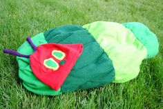 Very Hungry Caterpillar costume