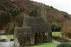 Glendalough Monastery in Ireland