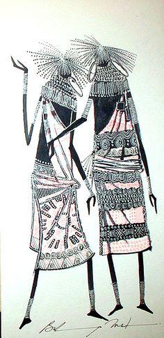 African tribal art