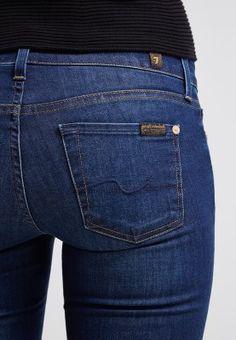 6489be6b 7 for all mankind - THE SKINNY - Slim fit jeans - Blåsort denim Jeans Fit