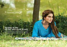 Universal Lawn Latha Women Summer Collection 2013 by Sitara Textile.