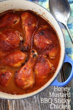 Honey Mustard BBQ Sticky Chicken recipe will keep the family coming back again and again. Honey Mustard BBQ Sticky Chicken recipe will keep the family coming back again and again. Easy Weeknight Meals, Easy Meals, Fast Dinners, Easy Skillet Dinner, Skillet Dinners, Southern Recipes, Southern Food, Southern Comfort, Sticky Chicken