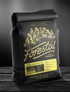 coffee Forestal on Behance