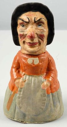 German Witch Candy Container