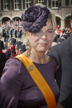 Princess Laurentien of the Netherlands......The Royal Hats Blog