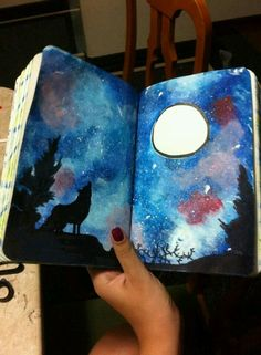 Wreck this journal ideas : Photo art Wreck This Journal, Journal Pages, Kunstjournal Inspiration, Art Journal Inspiration, Journal Ideas, Wow Art, Smash Book, Altered Books, Oeuvre D'art