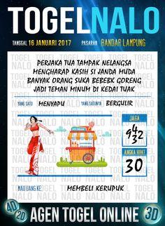 Kop Jitu 2D Togel Wap Online Live Draw 4D TogelNalo Bandar Lampung 16 Januari 2017