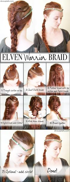 Elven Warrior Braid Tutorial