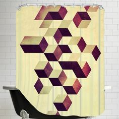 Americanflat Isyzymbyyz Shower Curtain