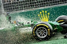 Formula 1 crash makes for one absolutely stunning photograph