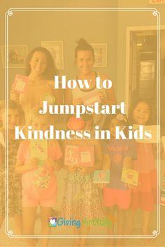 Jumpstart Kindness in Kids