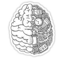 T-shirt Brain Sticker