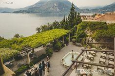 Wedding at Villa Cipressi, Varenna, Lake Como (Italy) // www.progettifotografici.com Lake Como Wedding, Wedding Reception, Wedding Ideas, Italy Wedding, Venice, River, Weddings, Space, Outdoor