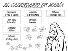 Recursos para el mes de Mayo: día de la madre; Mayo, mes de María y Cruces de Mayo