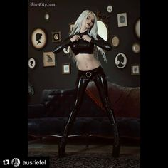 #Repost @ausriefel with @repostapp  I can't love this photo of @rincityofficial rocking the simplicity top&leggings enough! She looks amazing isn't she?!  @ausriefel latex fashion awesome photo by @alternate.history.photography - thank you! #ausriefel #latex #simplicity #alternative #darklatex