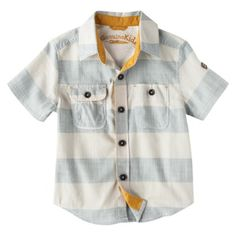 Genuine Kids from OshKosh™ Infant Toddler Boys' Button Down Top