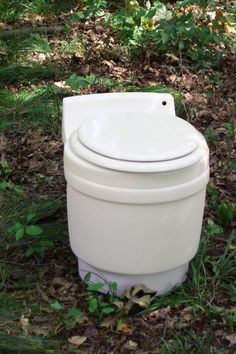 "Another pinner wrote:  ""Being a bit obsessed with the whole toilet in tiny house thing ""we have researched every single toilet option out there and tried a couple ourselves, and that we have FINALLY found our long term solution, the Separett!! Urine diverter, no odor, easy install, solids go into biodegradable plastic bag, no mechanical parts, and it looks like a pretty darn normal toilet. It's a big financial investment but worth every penny as it will last us for years and years."""