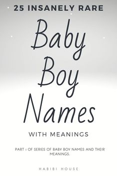 25 Insanely Rare Baby Boy names that you will instantly love (well, most of them anyway!) Baby names with meanings! 25 Insanely Rare Baby Boy names that you will instantly love (well, most of them anyway! Baby Names And Meanings, Names With Meaning, Biblical Names And Meanings, Uncommon Baby Boy Names, Unique Baby Boy Names, Names Baby, Rare Names For Boys, Beautiful Baby Boy Names