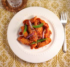 Jilly...Inspired : Orange-Sesame Chicken Stir Fry ~ A Sweet and Spicy, Light and Sassy Dinner