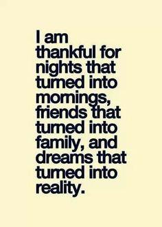 Eternally grateful.