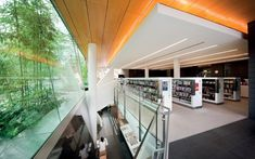 The Surry Hills Library and Community Centre in Sydney, Australia, designed by FJMT, was recently awarded the 2010 National Award for Sustainable Architecture by the Australian Institute of Architects. Public Architecture, Education Architecture, Sustainable Architecture, Sustainable Design, Architecture Details, Library Architecture, Amazing Architecture, Modern Architecture, Modern Library