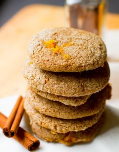 Citrus, Spice, Vanilla Company Cookies. - Healthy. Happy. Life. #vegan #glutenfree