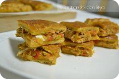 Cocinando con Kisa: Empanada Gallega ( thermomix y kitchenAid)