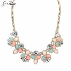 Chain Choker Statement Necklace Vintage Collier  #MaxiBibPendantNecklace  Jewelry