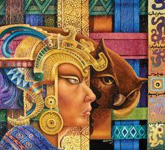 Alfredo Vivero, El Encanto Nativo | El Encanto Oculto De La Vida Acevedo, Inca, Indigenous Art, Art Nouveau, Princess Zelda, Culture, Peru, Artwork, Painting