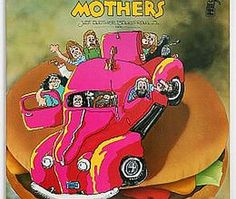 """Released on March 26, 1972, """"Just Another Band from L.A."""" is a live album by The Mothers of Invention. TODAY in LA COLLECTION on RVJ >> http://go.rvj.pm/7v6"""
