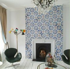 Cement Tile for a fireplace surround