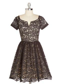 Fine-tune Your Flounce Dress