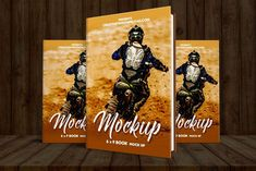Premium Book Cover PSD Mockup Free Mockup Templates, Ui Kit, Photoshop Actions, Banner, Author, Cover, Books, Banner Stands, Libros
