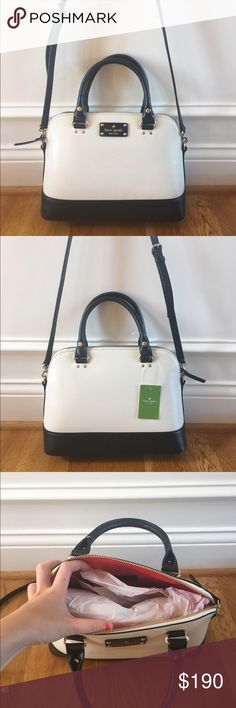 ❗️SALE❗️$295 Kate Spade Crossbody New with tags $295 Kate Spade small Rachelle wellesley crossbody in porcelain // brand new, perfect condition, never worn before. Kate Spade Bags Crossbody Bags