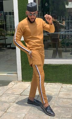 mens_fashion - Lovely African Men Clothing, Dashiki Wedding Suit, Dashiki Men's Style, African Men's Shirt And Pants Dashiki Suit, Wedding Dashiki African Male Suits, African Wear Styles For Men, African Shirts For Men, African Dresses Men, African Attire For Men, African Clothing For Men, African Women, African Men Style, Nigerian Men Fashion