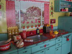 Preparing breakfast! by Retro Mama69, via Flickr