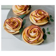 These beautiful and romantic rose apple custard tarts are available now in the bakery on Sundays- perfect for Valentines day!
