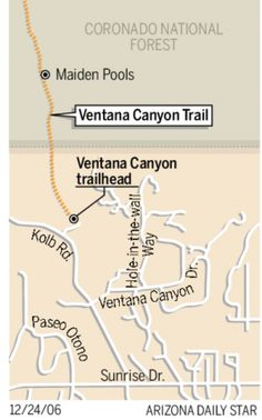 The Ventana Canyon Trail is a window on Tucson.