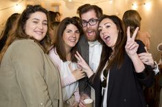 (De Izq a Dcha) Eva, de Colorín Colorado, María de Oui-Oui, Isaac de No Quiero y Saray de Wedding Style Magazine y organizadora de The Wedding Experience