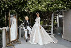 Miranda Kerr With Dior's Maria Grazia Chiuri