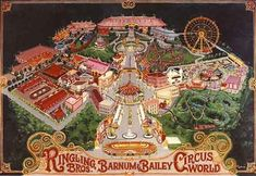 1977 - Circus World was a theme park built north of Haines City, Florida in Polk County, on the east corner of the intersection of US 27 and Interstate 4. It was originally a property of the Ringling Bros. and Barnum & Bailey Circus, and was intended additionally to be the circus's winter headquarters.