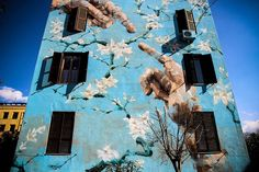 """Roma non basta una vita"" Why we should visit Rome? #culturainquieta http://culturainquieta.com/es/arte/street-art/item/10161-roma-non-basta-una-vita.html"