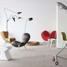 LAMPADAIRE 3 LUMIERES: ランプ デザイン家具 インテリア雑貨 - IDEE SHOP Online