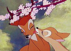 "Odin's Grey Hawk vintagegal: ""Disney's Bambi ""<br> Disney Amor, Arte Disney, Disney Love, Disney Magic, Looney Tunes Cartoons, Old Cartoons, Disney Cartoons, Disney And Dreamworks, Disney Pixar"
