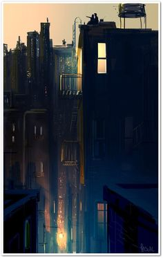 Kai Fine Art is an art website, shows painting and illustration works all over the world. Illustrations, Illustration Art, Pascal Campion, Nocturne, Storyboard, Amazing Art, Fantasy Art, Cool Art, Concept Art