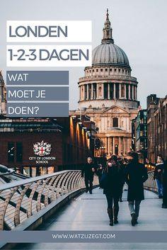 LONDON // Zo breng je 1 2 3 dagen door in Londen / stedentrip / dagplanning Londen