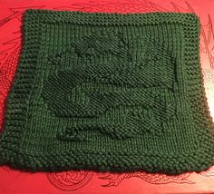 Ravelry: DovieCaba's Chinese Fireball Dragon Washcloth  June WTA Prize for The Otherworld Group on Swap-Bot.