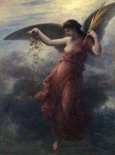 Henri Fantin-Latour (French, 1836-1904) Immortality, 1889